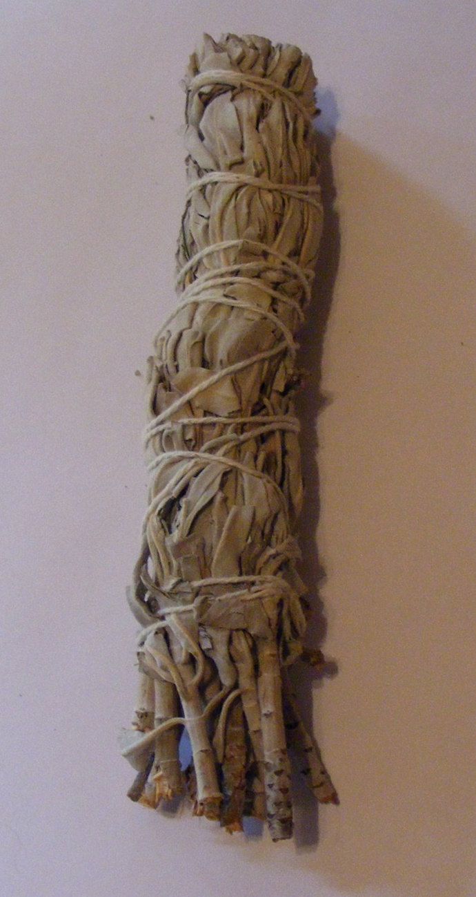 "White Sage/Wild Lavender Smudge Bundle - 7"""