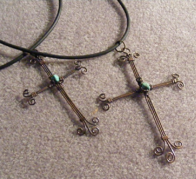 His and Hers Crosses