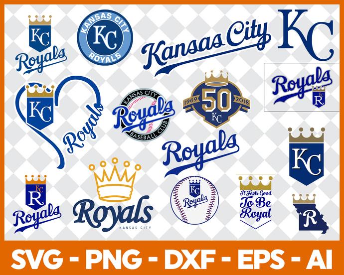 Kansas City Royals, Kansas City Royals SVG, Kansas City Royals logo, MLB Teams