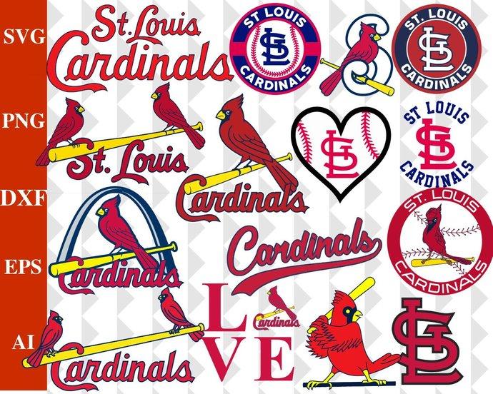 St. Louis Cardinals, St. Louis Cardinals SVG, St. Louis Cardinals logo, MLB