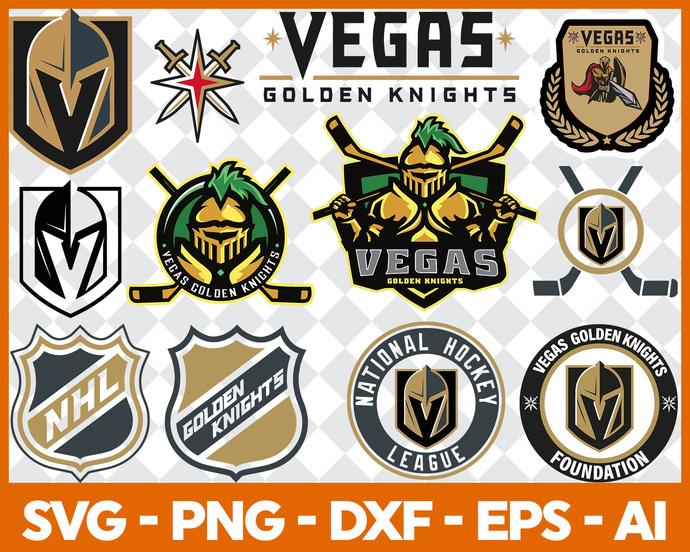 Vegas Golden Knights, Vegas Golden Knights SVG, Vegas Golden Knights logo, NHL