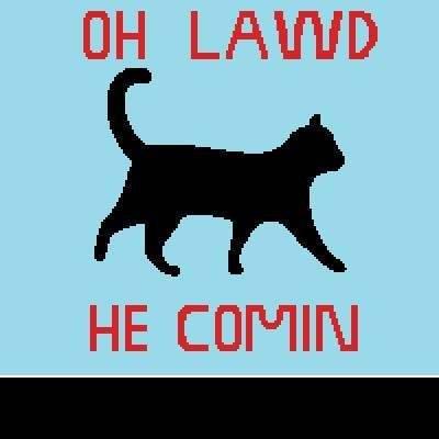 He comin' crochet graphghan pattern