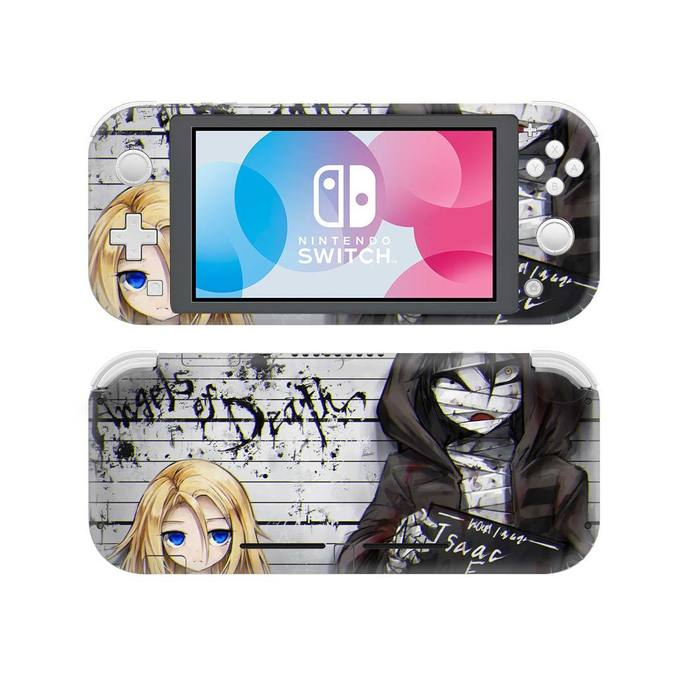 Angel of Death anime Nintendo switch lite Skin