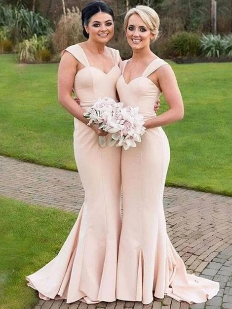 Mermaid Bridesmaid Dresses, Bridesmaid Dress, Wedding Party Dress, Dresses For
