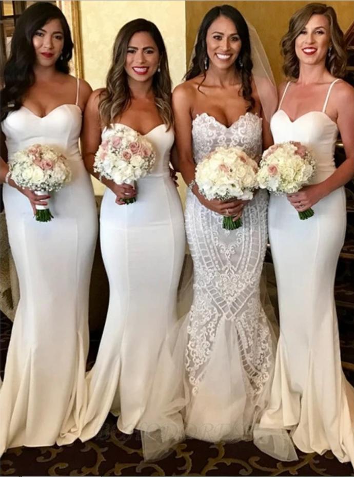 Mermaid Bridesmaid Dresses, Bridesmaid Dress, Wedding Party Dress, Dresses For