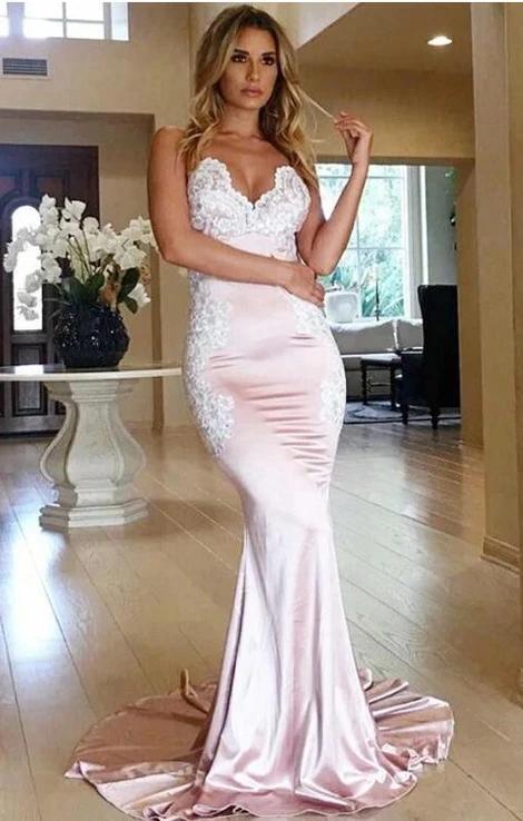 Mermaid Prom Dress 2020, Evening Dress, Dance Dress, Graduation School Party