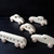 5 Handcrafted Wood Toy Cars, Bus  OT-43  unfinished or finished