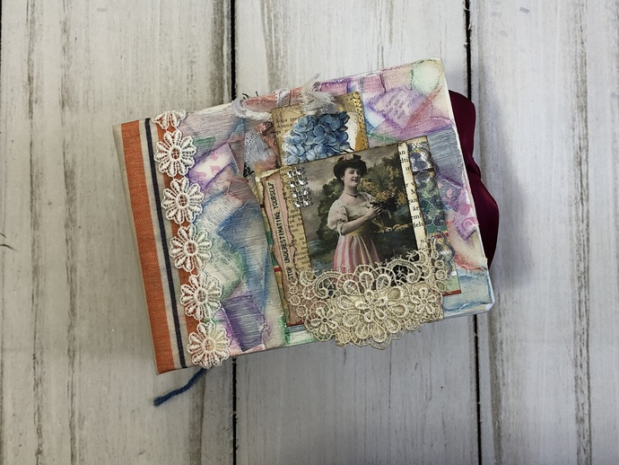 Hardcover Eclectic Journal #3 - by Lisbet Olofson