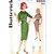 Butterick 9855 Misses Slim Dress 60s Vintage Sewing Pattern Uncut Size 10 Bust