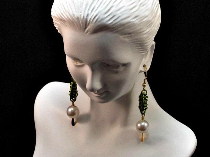 Desiree Chainmail Earrings