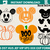 pumpkins mickey applique design – pumpkins mickey Machine embroidery file - pes