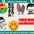 bad bunny  applique design – bad bunny embroidery file - pes hus jef vip vp3 xxx