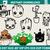 Baby applique design – groot Machine embroidery file - pes hus jef vip vp3 xxx