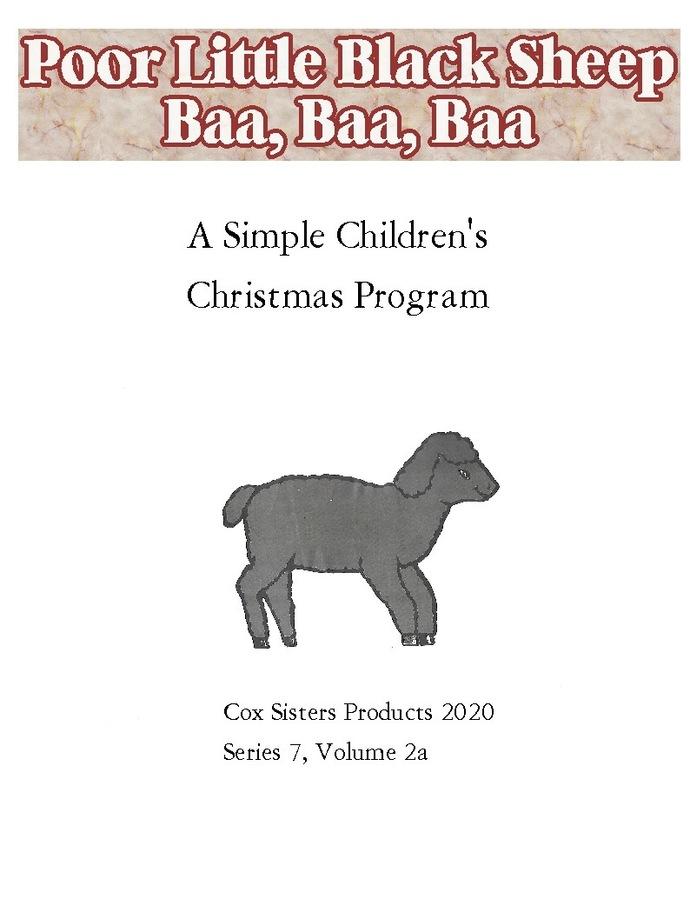 Poor Little Black Sheep, Baa, Baa, Baa