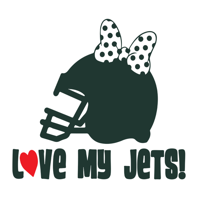 New York Jets Minnie Logo svg, NFL Football svg, new york jets cricut, jets cut