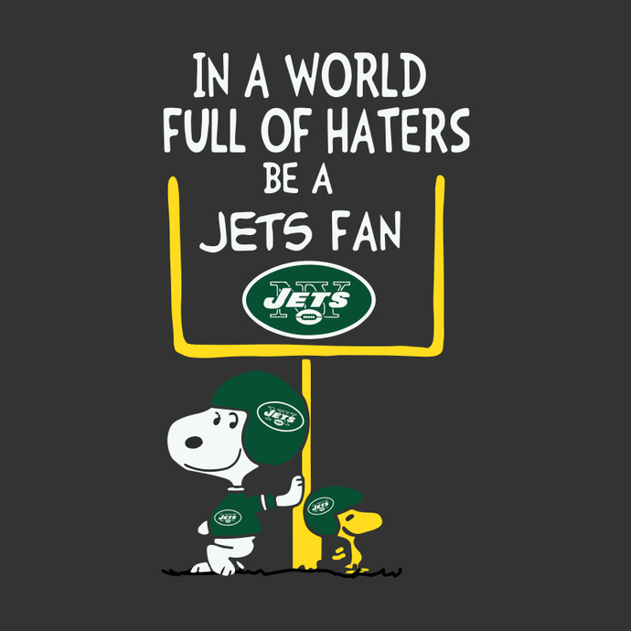 In a world full of haters be a Jets fan svg, Be A Jets Fan svg, New York Jets