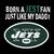 New York Jets svg, Born A Jets Fan Just Like My Daddy svg, new york jets cricut,