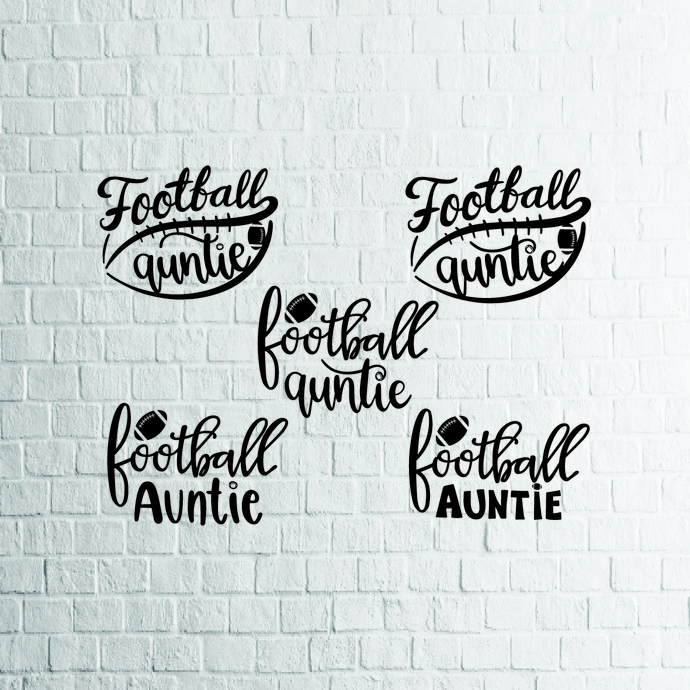 Football Auntie svg, Rugby Auntie svg, Aunt svg, Aunty svg, Game Sports Ball