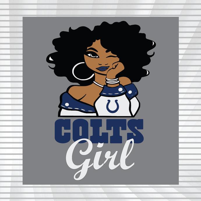 Colts girl svg, dxf, png, Girl svg, dxf, png, NFL girl svg, png, dxf, NFL svg,