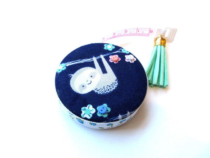 Tape Measure Hanging Sloths Small Retractable Measuring Tape