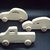 3 Handcrafted Wood Toy Cars and Pickup OT-71-3-BH-U   unfinished or finished