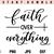 Faith Over Everything SVG, Faith, Jesus, God, Christian, Bible, SVG, PNG, DXF,