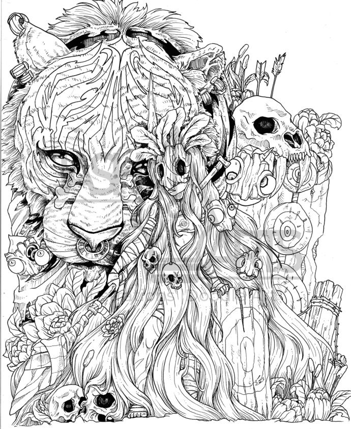 GOTHIC LADY 002