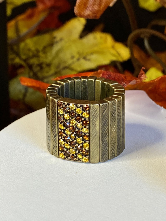 Fall-Inspired Ring