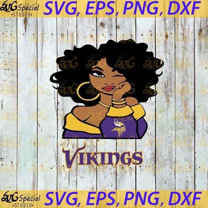 Minnesota Vikings Svg, Love Vikings Svg, Cricut File, Clipart, Sport Svg,