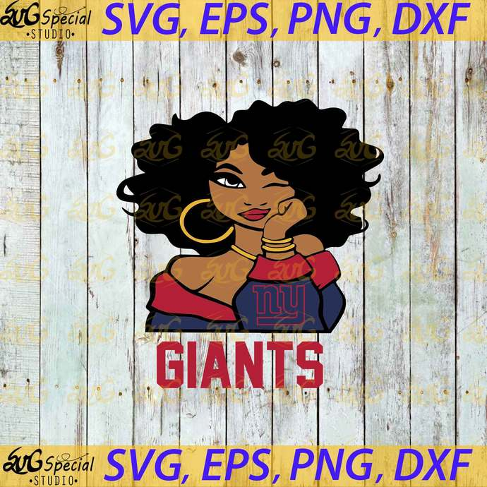 New York Giants Svg, Love Giants Svg, Cricut File, Clipart, Sport Svg, Football