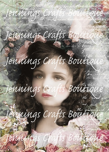 Jennings Crafts Boutique's Own Vintage Canvas Picture - Choose Your Size