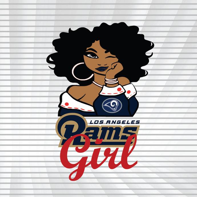Rams girl svg, dxf, png, Girl svg, dxf, png, NFL girl svg, png, dxf, NFL svg,