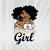 Saints girl svg, dxf, png, Girl svg, dxf, png, NFL girl svg, png, dxf, NFL svg,