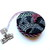 Tape Measure Red Black White Knitting Stitches Small Retractable Measuring Tape