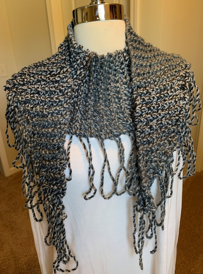 Shades of Gray Shawlette