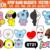KPOP BAND MASCOTS pack x16, Instant Digital Download, cricut,  Svg | Png | Pdf |