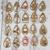 Christmas Earrings ~ Set of Ten ~ Acrylic Blanks