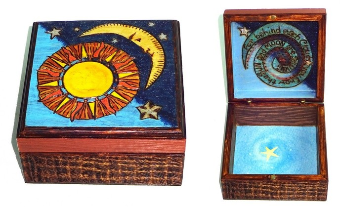 For Behind Each Cloud Wooden Box
