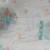 Fabric, Nursery, Infant, 2 yds, White, Aqua, Pink, Bear, Horse, Clown, NOS,