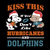 Peanuts kiss this if you don't like Hurricanes and Dolphins svg, Miami dolphins