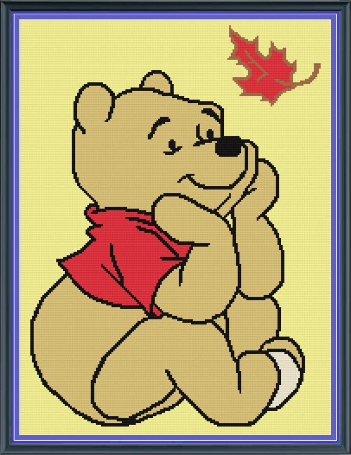 Pooh Bear in Fall-SC-180x240