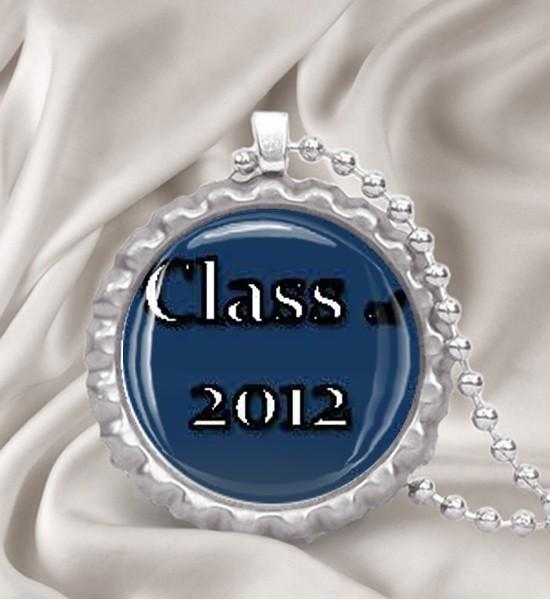 Class of 2012 Bottle Cap Necklace