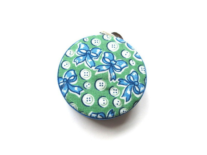 Tape Measure Buttons and Bows Small Retractable Measuring Tape