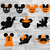 10 x Mickey Halloween Faces, Minnie Halloween, Disney Halloween,Printable