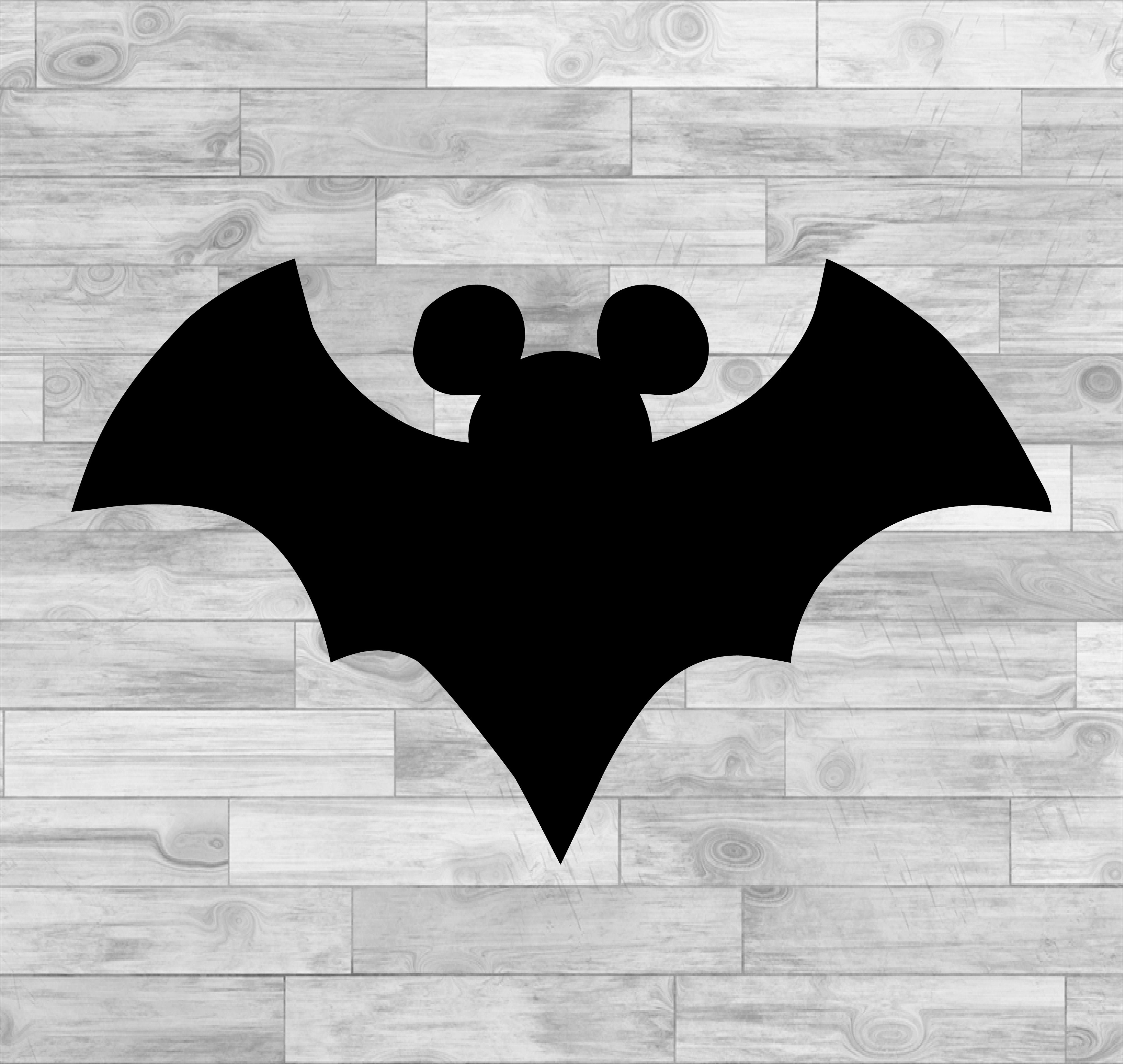 Halloween mickey mouse bat svg, disney svg, cut files for cricut silhouette,