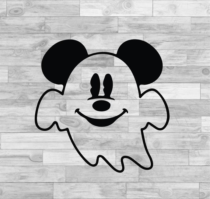Mickey And Minnie Ghost Svg, Mickey And Minnie Svg, Disney Svg, Disney Cricut