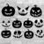 11 x Pumpkin Face SVG - Ghost SVG - Halloween Decor - Pumpkin SVG - Halloween