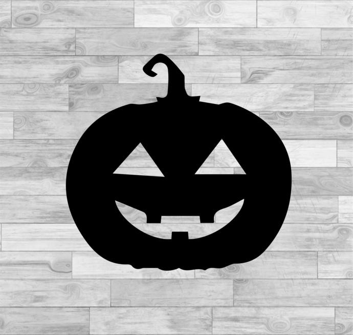 Pumpkin Face SVG - Ghost SVG - Halloween Decor - Pumpkin SVG - Halloween Svg -