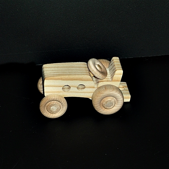 Birthday Party Pack 20 Wood Toy Tractors BP-104BH-U unfinished or finished