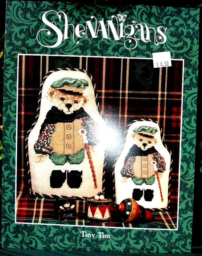 Shenanigans Tiny Tim Cross Stitch Pattern